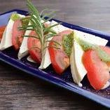 ★トマトと島豆腐のカプレーゼ★