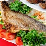 シェフのオススメ魚料理