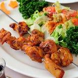・チキンの串焼き(鶏肉)