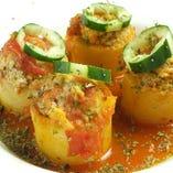 Sepet Patates Dolmasi /  ポテトのドルマ