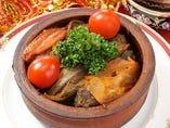 野菜とお魚のトルコ風トマトスープ鍋