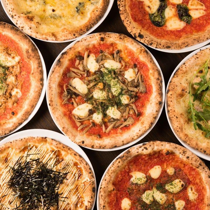 【3時間食べ飲み放題付】月~木限定 窯焼PIZZA&パスタ食べ放題〈全14品〉各種宴会、パーティ女子会にも!