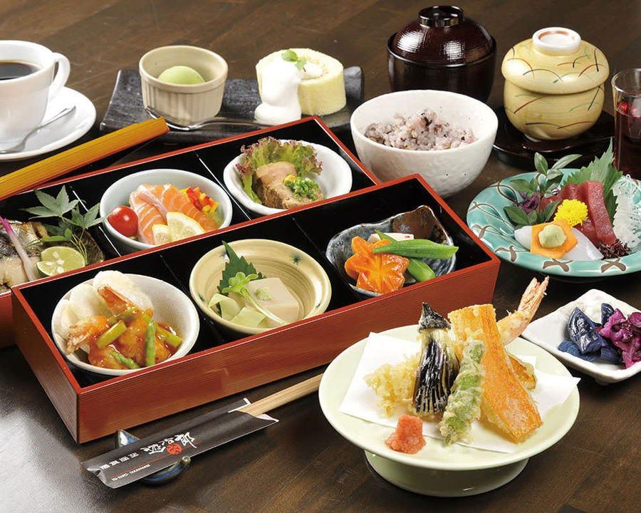 限定50食の「遊冶郎御膳」は玉手箱のようなワクワク感♪