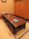 お座敷席(6~34名様)計3部屋の完全個室