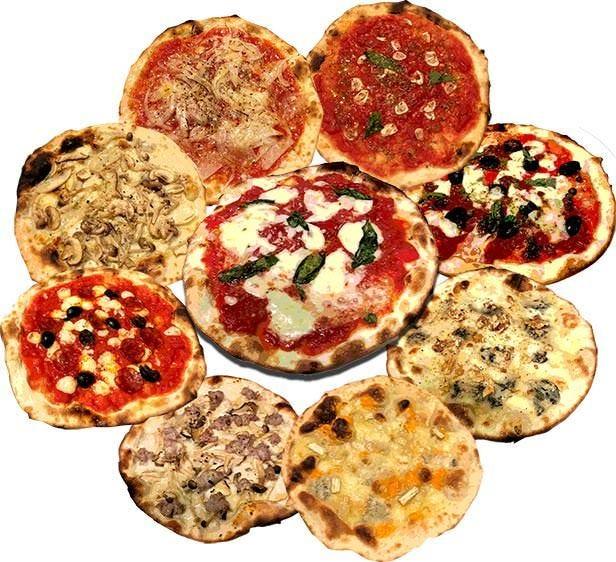 ピザの種類が増えて、毎日!提供できるようになりました!