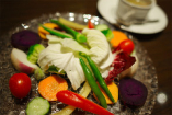 新鮮野菜のバーニャカウダ 特製アンチョビソース
