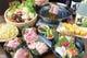 沖縄の名産あぐー豚を贅沢にしようしたコース料理もあります。