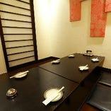 【人気の完全個室】ゆっくりくつろげる個室は7名様まで対応可