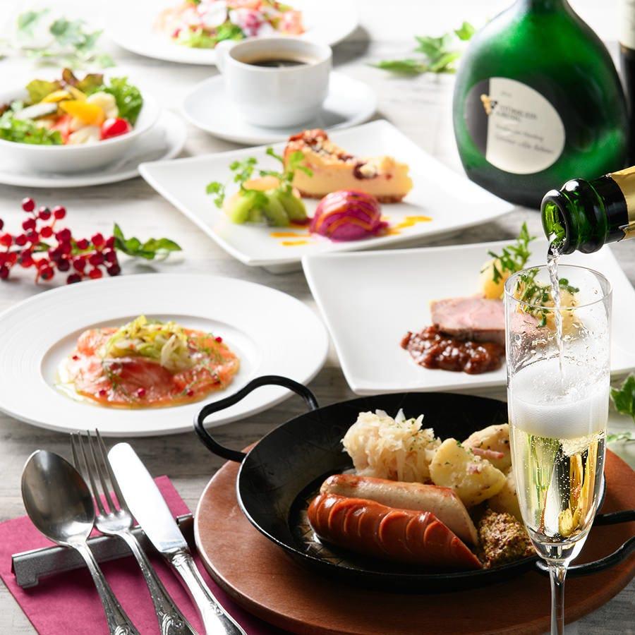 【日~木限定フルコース】全て選べるプリフィクス全5皿お客様のお好みに合わせてお選びください。
