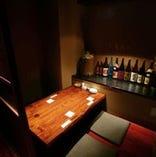 デートや少人数様の飲み会に最適掘り個室
