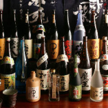 隙間なくぎっしりと並んだ焼酎の数々【鹿児島県】