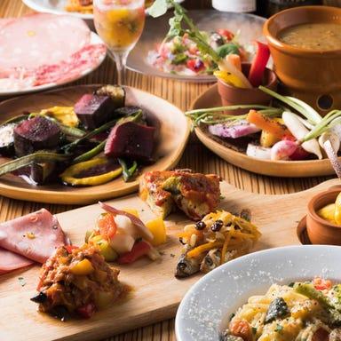 産直野菜イタリアン La ZAPPA 北千住 コースの画像