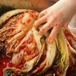 【手作りキムチ】 本場韓国の手作りキムチをご堪能ください