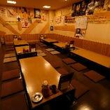 【20〜40名様】プライベート感の保たれた掘りごたつ席の個室を貸し切ってご宴会!