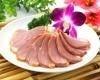 鴨肉の燻製