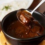 京の肉のビーフカレー
