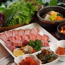 サンパセット&種類豊富な焼肉!!