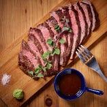 ランイチの牛ステーキ(200g)