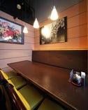 テーブル個室!!人数のご相談もお気軽にどうぞ。