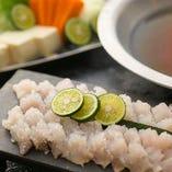夏の風物詩【鱧】や、冬にかかせない【ふぐ】など、季節ごとの美味しい魚にもご期待ください!