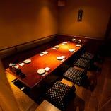 『自慢の蕎麦(そば)座敷』そば居酒屋を堪能する空間♪ 《8名席》