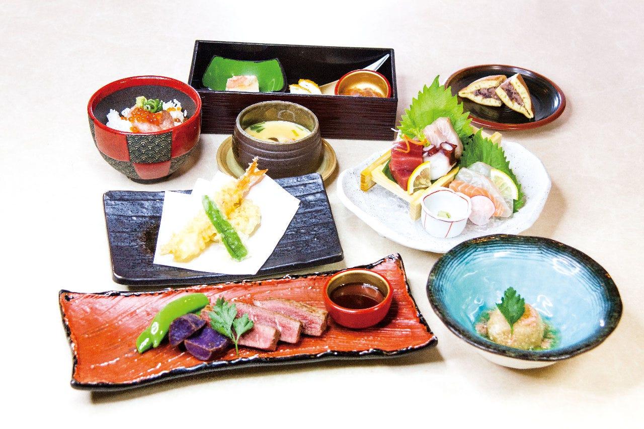 除菌器設置×個別盛り【和食と牛ステーキを愉しむコース】<全8品>料理のみ4000円