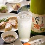 店主が厳選!日本酒や蔵元さんが作る人気の果実酒をご用意