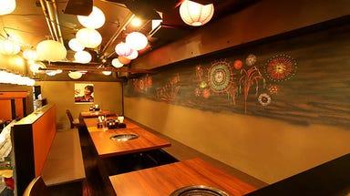焼肉 牛舞 袋町店  店内の画像