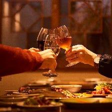 【贅沢なひと時を】記念日や大切な日に3.5時間7,000円飲み放題コース