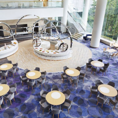 ヒルトン東京ベイ 「lounge O」  店内の画像