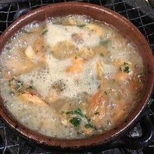 スープ仕立ての飲めるアヒージョ