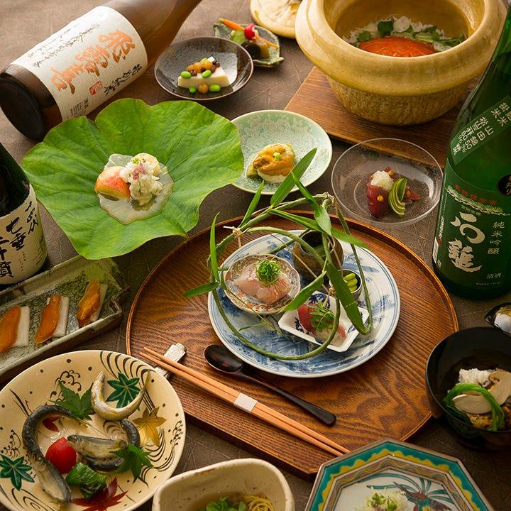 食通をも唸らせる創意豊かな日本料理