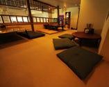 ≪宴会におすすめの中二階≫ ゆったり宴会を楽しむ半個室座敷席