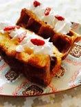 今月のワッフルケーキ