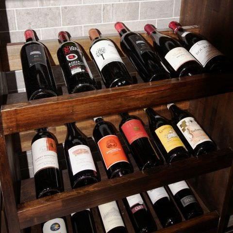 こだわり抜いたワインの数々◎