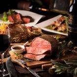 様々な肉料理を豊富にご用意しております。