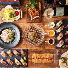 肉寿司やロングユッケ寿司が食べ放題