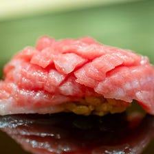 四季の旬を味わう正統派江戸前鮨