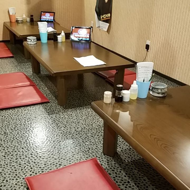 貸切宴会にぴったりの半個室も可能!