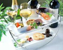 【アフタヌーンワイン】前菜盛合せワイン付き 2980円