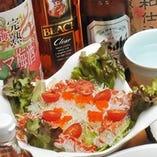 金魚サラダ (和風ドレッシング)