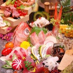 瀬戸内天然魚と釜飯 つき灯り 三宮