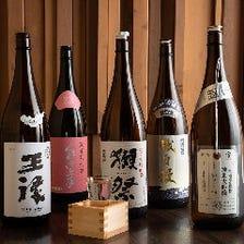日本酒や焼酎のラインナップも充実