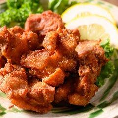 道産鶏の唐揚げ マキシマムスパイス添え