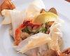 本日のお魚と貝類・香草のカルトッチョ