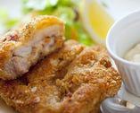 桜島鶏もも肉の香草パン粉焼き カリッとジューシーな逸品♪
