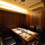 テーブル個室(最大6名様)
