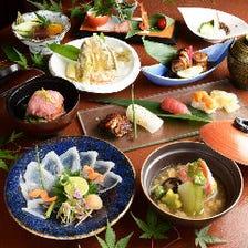 贅沢食材を堪能【桔梗~ききょう~】コース6000円