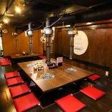 【宴会に☆】焼肉宴会は市ヶ谷牛楽におまかせ♪2F全座席を完備しております!