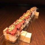 【新発売】超ロングユッケ肉寿司